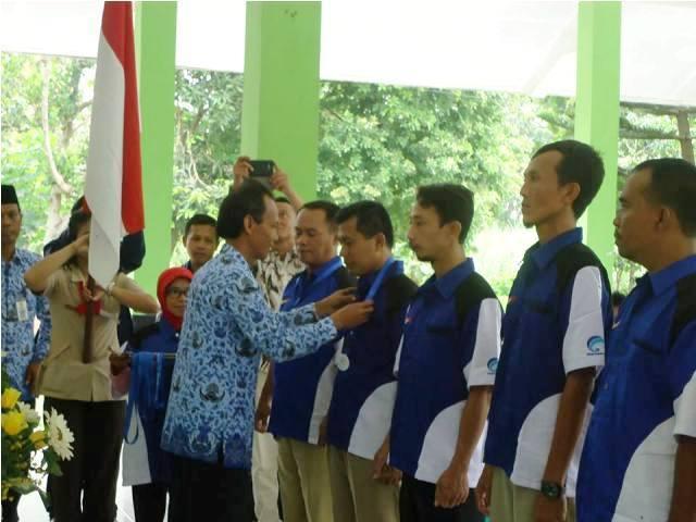 Relawan TIK Kec. Sawahan dan STT Darma Iswara Madiun, Dikukuhkan